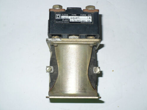 Square D 8960-DAOAT Single Pole Contactor, Used
