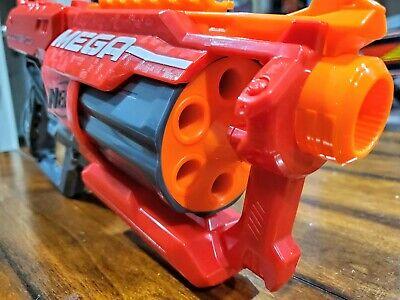 Fully Modified NERF N-strike Elite MEGA CycloneShock Blaster A9249