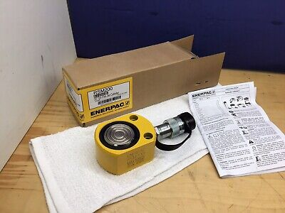 Enerpac Rsm-200 20 Ton Low Height Hydraulic Cylinder New Fast Shipping