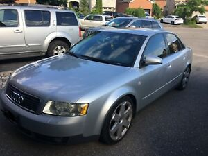 2003 Audi A4 1.8t Quattro $3500 OBO AS IS