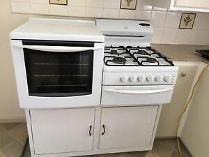 Chef fan forced side by side gas cooktop/oven Valley View Salisbury Area Preview