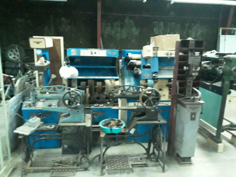 Complete Shoe Repair Equipment $10,900 Made by Suttan, Auto Solar, Landis
