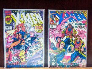 Uncanny X-Men 281 - 286! Inc 1st Bishop!!!