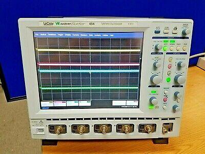 Lecroy Wavesurfer 454 Digital Oscilloscope 4 Ch. 500 Mhz 2 Gss Ships From Usa