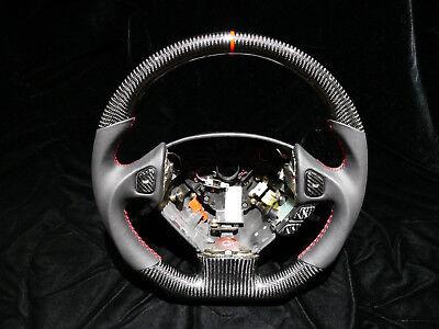 Oem Steering Wheel FOR Acura NSX  Custom carbon fibre Flat Bottom, Thicker Grip