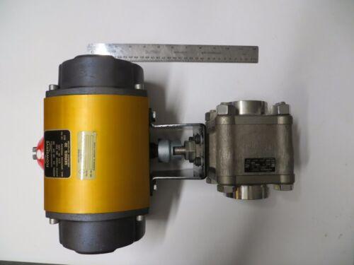 FlowServe Series 39, 25-39-SN R6 pneumatic actuator ,2