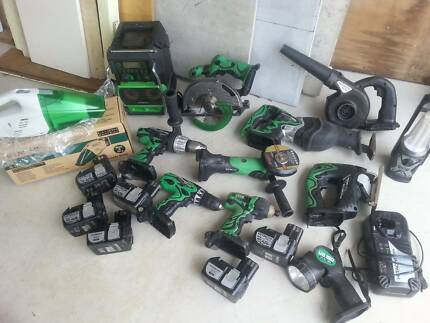 Hitachi 18v cordless tools Manly Manly Area Preview