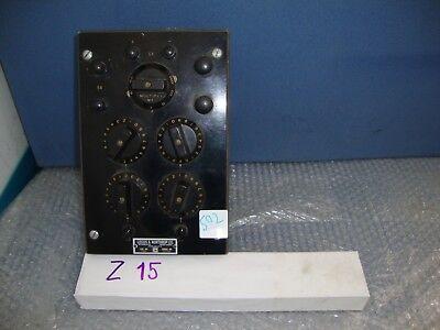 Vintage Antique Leeds Northrup Electric Decade Resistor Cat 4760