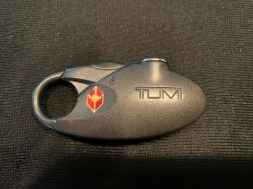 TUMI Dark Gray TSA Secure Luggage Combination Lock