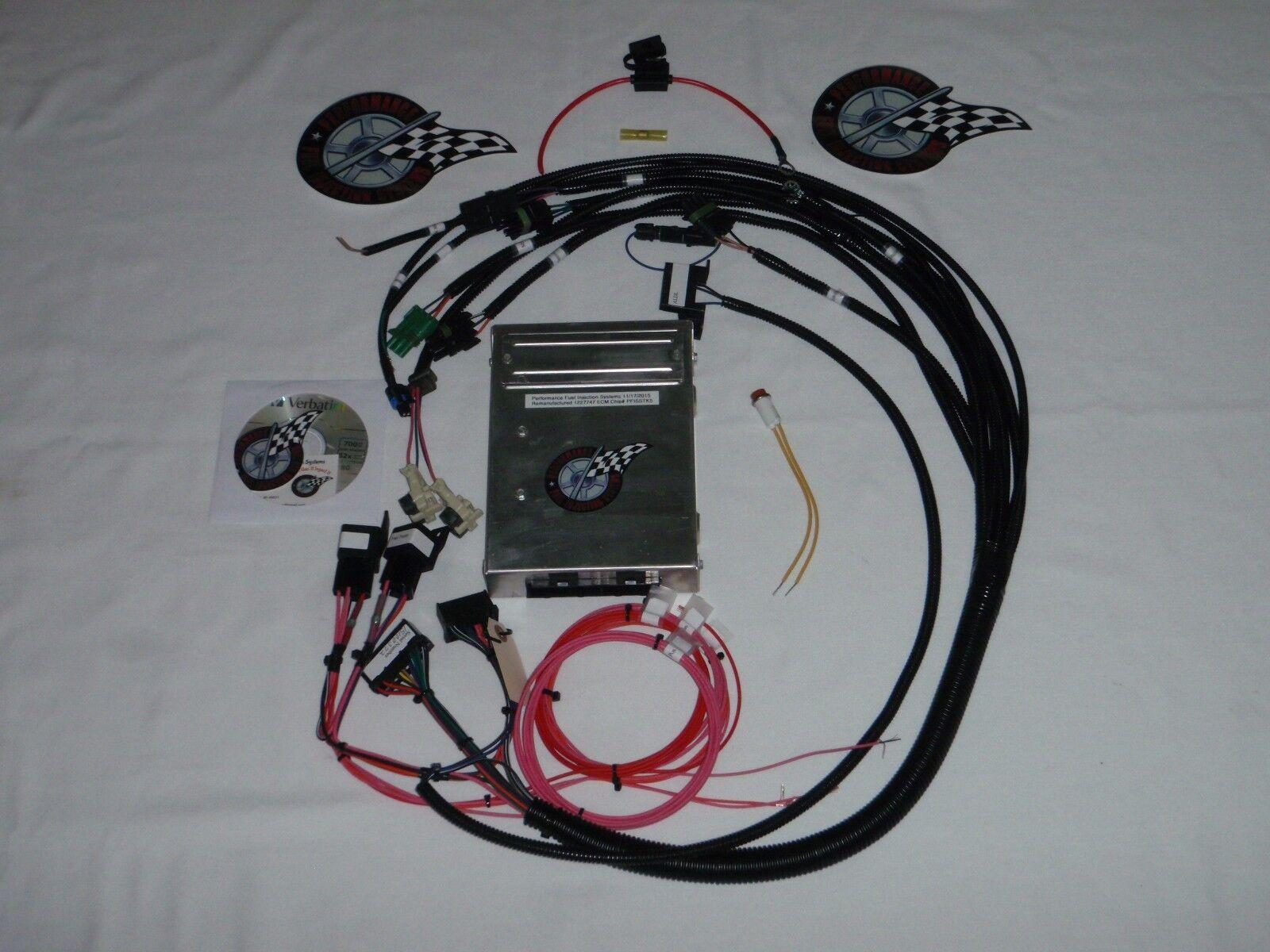 tbi harness w ecm fuel injection wire harness sbc tbi engine ebay