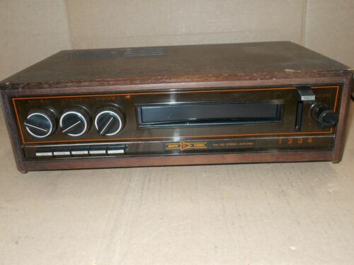Vintage MUNTZ stereo amplifier HW 150 4 and 8 track fully operational #2301