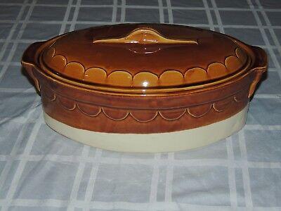 Hard Casserole Dish (EMILE HENRY CASSEROLE DISH / BAKER –HARD-TO-FIND– RARE EXCELLENT!! )