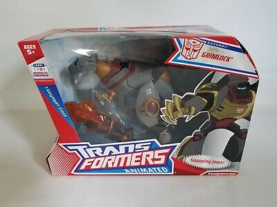 Transformers Animated Voyager Class Grimlock - New in box