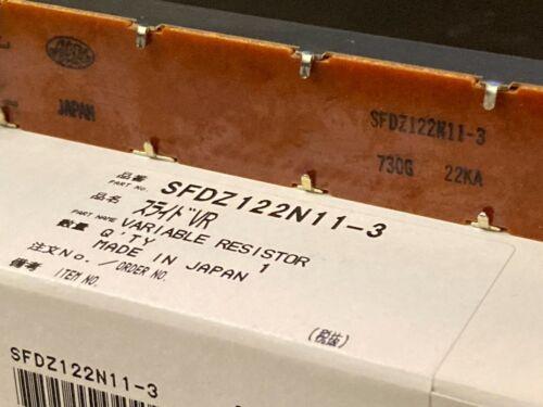 New Technics SL1200 MK5/MK3D  Turntable Pitch Control Part SFDZ122N11-3 No click