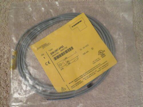 NEW TURCK PERMA PROX PROXIMITY SENSOR BIM-UNT-AP6X 4685720 3-WIRE POTTED CABLE