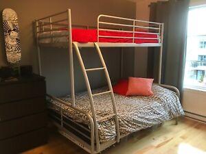 Lits superposés IKEA (double et simple)