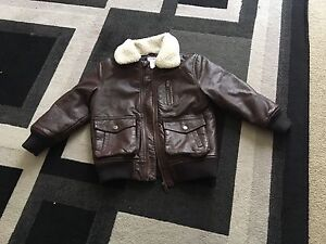 Boys' Leathery Jacket