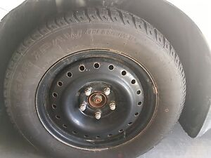 Winter Tires (Set of 4) with Rims(295/65/R15)