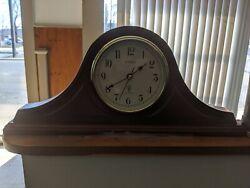 Wooden Clock La Crossed