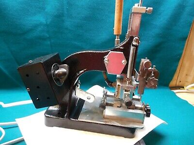 Vintage Kingsley Ktj Hot Foil Stamping Embossing Machine High Temp 500 Deg