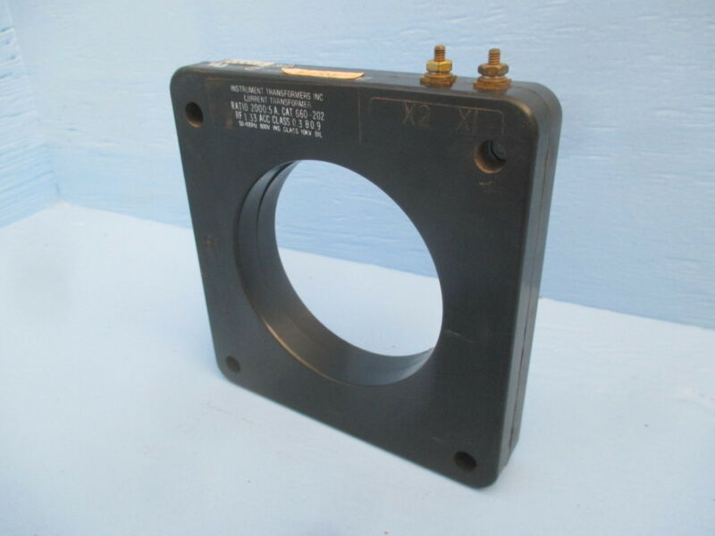 Instrument Transformers 660-202 Current Transformer Ratio 2000:5A CT ITI 2000-5