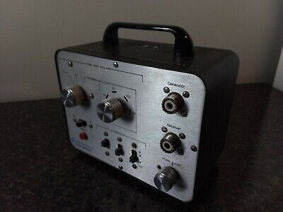 Vintage Motorola Pulse Generator Tek 47a Test Equipment Untested