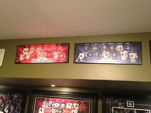 NHL team plaques Toronto Maple Leafs and more