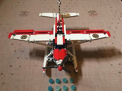 LEGO Technic 42040 Fire Plane 100% Complete Excellent Condition
