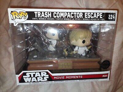 Funko Pop Star Wars: Movie Moments - Trash Compactor Escape # 224