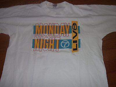 Abc Vintage Monday Night Football Live Official Promo T Shirt Adult Large