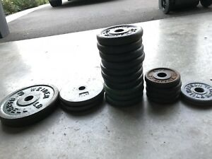 Weight plates  and dumbbell handles