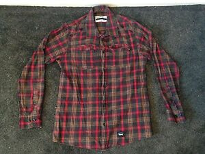 Orisue Long Sleeve Button up Brown Medium Adamstown Newcastle Area Preview