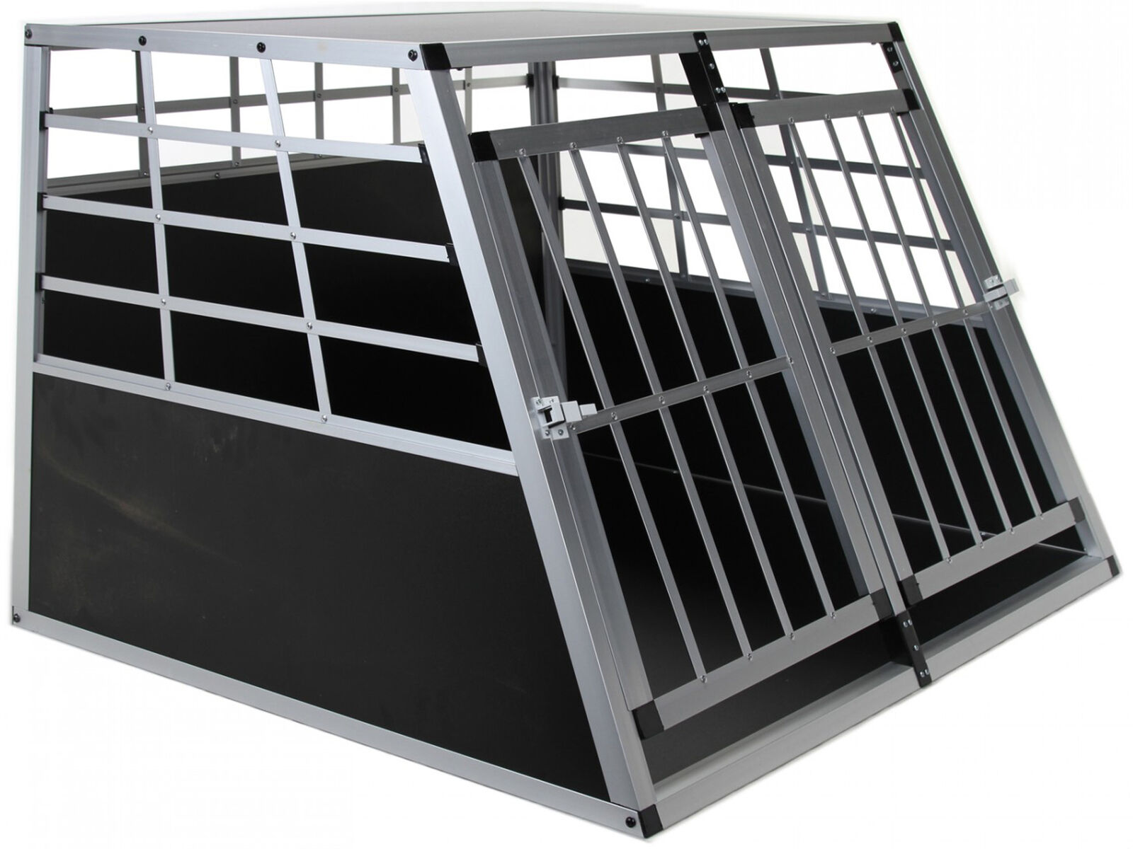 Jalano Hundebox Auto Kofferraum Hundetransportbox Transportbox Gitterbox Hunde