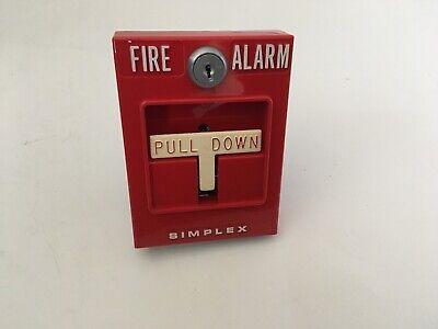Nib New Vintage Rare Simplex 4251-41e Fire Alarm Dual-stage Pull Station
