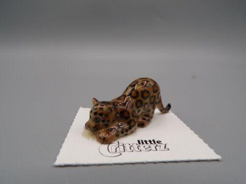 """Little Critterz Jaguar Cub """"Amazon"""" Porcelain Collectible LC426"""