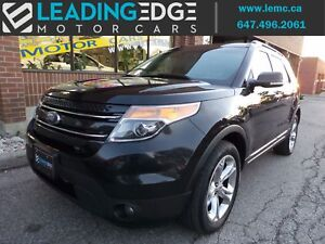 2014 Ford Explorer Limited 7 Passenger, Leather