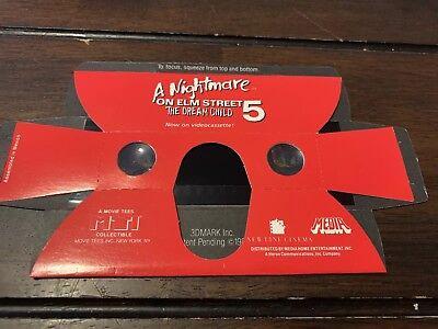 Freddy Krueger Nightmare on Elm Street The Dream Child 3D Promo Binoculars *RARE - Freddy Krueger Child
