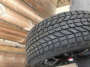 Winter rims and tires (used one winter) WRX/STI