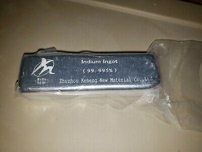 Indium Bar 12 Kilo Each 4n5 Pure