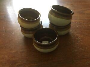 Ceramic bowls (set of 5)