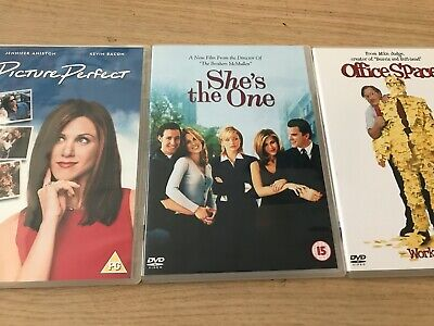 Jennifer Aniston Collection of DVD's LOT 7