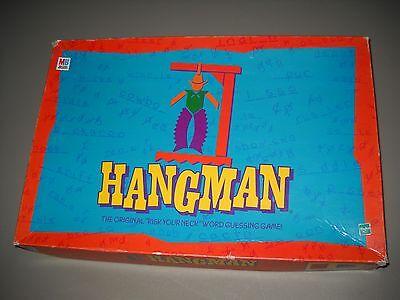 Vintage 1999 Milton Bradley Hasbro Hangman Board Game No 04623