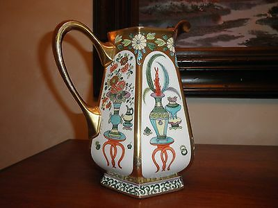 Pickard China Beautiful Vintage Hand Painted Signed Pitcher