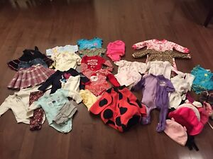 Baby Girl Clothes 6-12 mths
