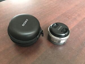 Lens sony 16mm 2.8 and a Fisheye converter