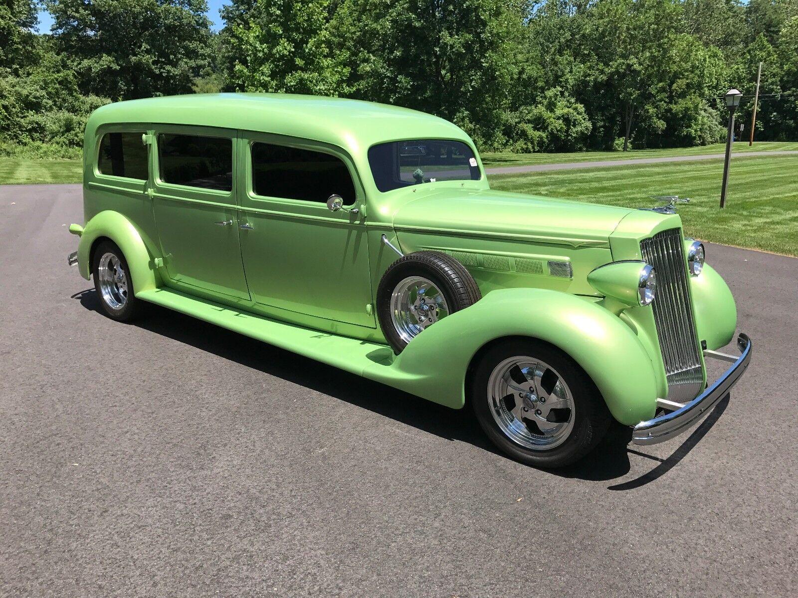 1936 Packard Henney Hearse  1936 Packard Henney Hearse