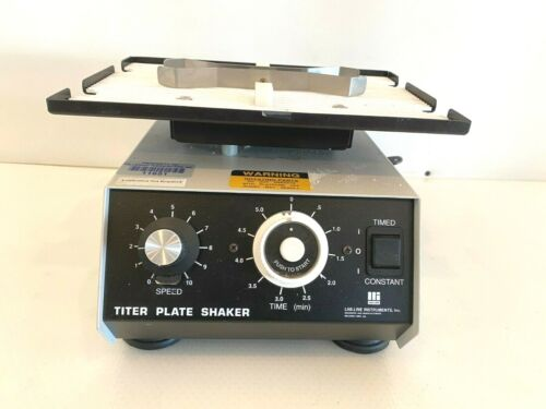 Lab Line Instruments Titer Plate Shaker 4625 With Warranty