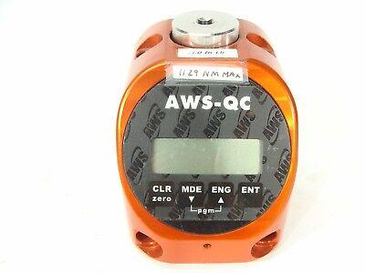 Aws-qc Series Qci-100 Torque Display Tester 10 - 100 Lb. In 14 Sq. Drive