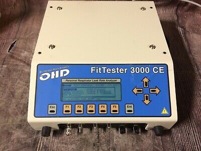 Ohd Fittester 3000 Ce Respirator Quantitative Fit Tester - Tested