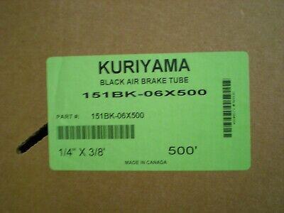 Kuriyama 151bk-06x500 Black Endure Reinforced Air Brake 14 X 38 500 Spool